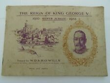 Reign of King George V Silver Jubilee 1910 - 1935 -Cigarette Card Collection
