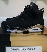 2020 Nike Air Jordan 6 Retro DMP Black Metallic Gold CT4954 007 GS & Men's Sizes