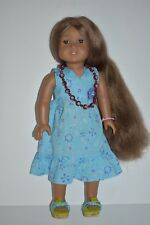 American Girl Doll Kanani in Her Meet Dress