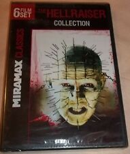 Miramax Classics: The Hellraiser Collection (2-DVD Set, 2011) New Unopened!