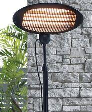 Patio Heater 2M Height 2000W IP34 Garden Free Standing - Adjustable Height /temp