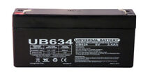 6 Volts 3.4Ah -Terminal F1 - Rechargeable Battery - UB634