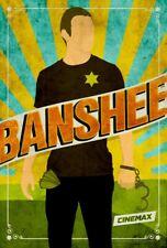 BANSHEE (Antony Starr/Ivana Miličević) series poster 3 - glossy A4 print