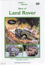Best of LAND ROVER SI-III DVD Volume 1 -  from 1950-1999 - NEW