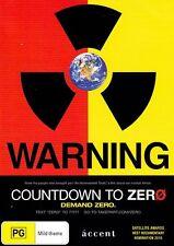 Countdown to Zero - Demand Zero DVD - Nuclear, War, Bombs, Documentary