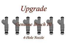 90-96 FORD 3.8 4.9  (6) BOSCH III UPGRADE FUEL INJECTOR SET 4-HOLE NOZZLE