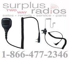 SPEAKER MIC & EARPIECE FOR KENWOOD RADIO TK2160 TK3160 TK3312 NX320 TK3173 NX220