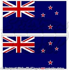 "New Zealand Drapeau Aotearoa Kiwi 110 mm (4,3"") Vinyle Autocollants Decals x2"