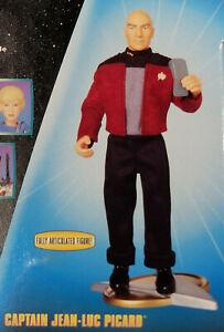 "9"" Captain Picard in Darmok Jacket Target StarFl Comm Star Trek TNG Playmates 99"