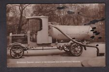 More details for london surrey southwark gulley emptying wagon c1910/20s? rp postcard - faults