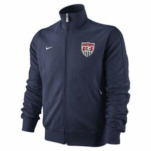 US Soccer 2010 USMNT Nike N98 Track Jacket Women's Small Navy