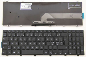 For Dell Inspiron 3878 5543 5545 5547 5557 5558 5758 Keyboard Nordic Swedish DK