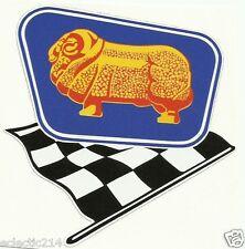 GOLDEN FLEECE GAS Vinyl Sticker Decal Service Station F1 FLAG Vintage Style OILS