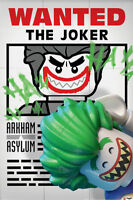 "Lego Batman (Wanted The Joker) MAXI POSTER - 61cm x 91.5cm - 36"" x 24"" inch"