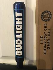 "Bud Light Beer Tap Handle NEW 2016 Logo BUD LIGHT NEW In BOX 12"" TALL NEW !!!"
