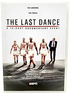 The Last Dance - A 10 Part Documentary Event (DVD, 3-Disc Set 2020) FREE Ship!