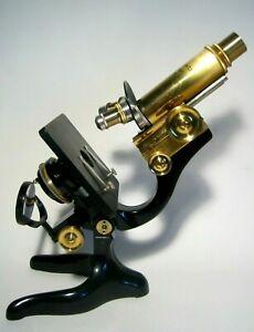 Mikroskop Messing Ernst Leitz Wetzlar, ca. 1920er Jahre