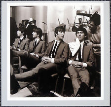 THE BEATLES POSTER PAGE . 1964 ED SULLIVAN SHOW GEORGE GETS MAKE-UP . H27