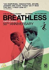 BREATHLESS (A Bout de Souffle) di Godard DVD in Francese 50th Anniversary NEW.cp