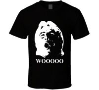 Rick Flair The Nature Boy Woo Wrestling Big Face Men's T Shirt Black