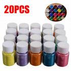 20 colors Resin Epoxy Dye Pigment Powder Pearl Natural Mica Mineral Powder*
