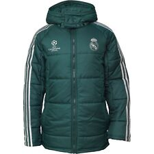 Rare adidas RMCF Real Madrid Edu Padded Hooded Jacket (Z10121) Men's Size ( L )
