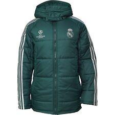 Rare adidas RMCF Real Madrid Edu Padded Hooded Jacket (Z10121) Men's Size ( L )