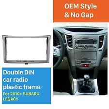 For SUBARU Legacy Outback 2009-2014 Car Radio Fascia Frame Plate Dash Panel 2DIN