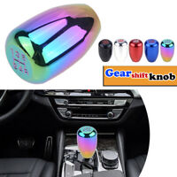 NEO Chrome 5 Speed Car Shift Knob Short Gear Shifter Lever Manual MT Aluminum