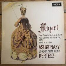 SXL 6259 Mozart Piano Concertos 8 & 9 / Ashkenazy / Kertesz / LSO W/B