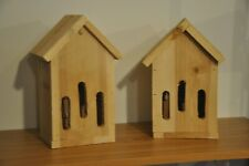 Butterfly House - One Handcrafted Cedar Butterfly Haven (Tall) Bh3