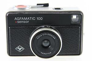 Agfa Agfamatic 100 Sensor mit Agfa Colorstar Parator Optik - Silver / Silber