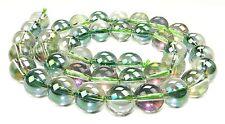 😏 Bergkristall Regenbogen Kugeln irisierend 6, 8, 10 & 12 mm Perlen Strang 😉