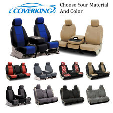 Coverking Custom Front and Second Row Seat Covers For Cadillac Escalade SRX