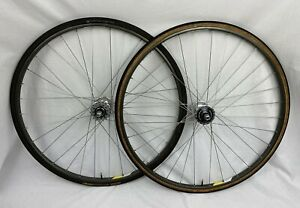 Campagnolo Omega Tubular Rims 32h Shimano DURA-ACE HB-7600 DT Swiss FIXIE TRACK