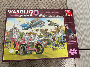 """""""TIME TRAVEL!"""" 1000 P WASGIJ No5 Destiny Puzzle by Jumbo.VGC.COMPLETE.B Charity"""