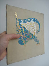 WW2 ZURICH AMAZING BOOK  PHOTOS whilst RAF Bomber Command pounding Germany 1944