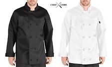 Chef Code Executive Chef Coat Cotton With 10 Buttons Chef Uniform Cc119