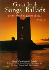 Great Irish Songs And Ballads Volume 1 (Pvg - Piano/vocal... WM1140A