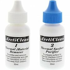 New - Arctic Silver ACN-60ML ArctiClean 1 & 2 Thermal Paste Remover Purifier