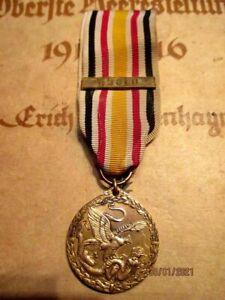Original German CHINA commoration medal 1900 & Combat Clap HOULU