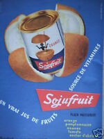 PUBLICITÉ 1958 SOJUFRUIT FLASH PASTEURISÉ - ADVERTISING