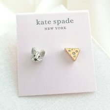 NWT Kate Spade Year of the rat cheese stud earrings