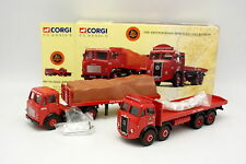 Corgi 1/50 - Coffret Leyland Articulated & Atkinson 8 Wheel British Road Service
