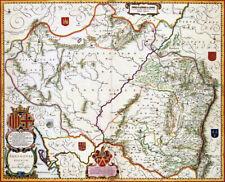 Reproduction carte ancienne - Aragon (Aragón) 1638
