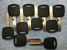 10 Pc Lot of H72 Transponder Key for Ford / Lincoln / Mercury  - Generic Brand