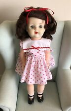 "Vintage 1950s Pedigree? 23"" Doll. Walker. Very Good Condition"