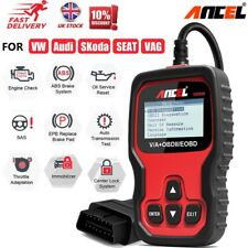 Ancel ABS SRS EPB Transmission Diagnostic Scanner Car OBD2 Scanner For VW Audi
