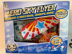 New Aero Sky Flier R/C Battery Charger Included Climb Cruise Dive Easy To Fly 8+
