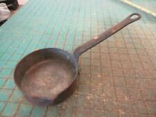 Antique Small Copper Pan with Spout Nice Patina